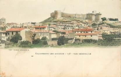 """/ CPA FRANCE 30 """"Villeneuve les Avignon, vue générale"""""""