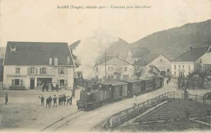 "CPA FRANCE 88 ""Saint Amé, Tramway pour Gérardmer"""