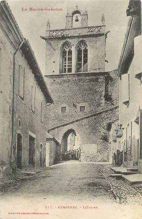 """/ CPA FRANCE 31 """"Aurignac, l'église"""""""