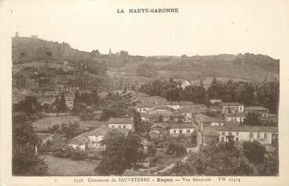 """/ CPA FRANCE 31 """"Commune de Sauveterre, Bagen, vue générale"""""""