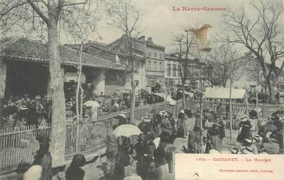"""/ CPA FRANCE 31 """"Castanet, le marché"""""""