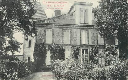 """/ CPA FRANCE 31 """"Caraman, château du clos"""""""