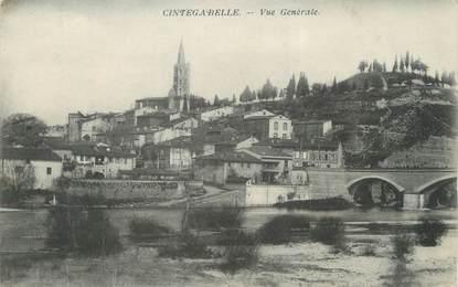 """/ CPA FRANCE 31 """"Cintegabelle, vue générale """""""