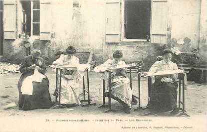 """CPA FRANCE 88 """"Plombières les Bains, les Brodeuses"""""""