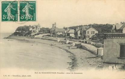"""CPA FRANCE 85 """"Ile de Noirmoutier, anse de Souzeaux"""""""