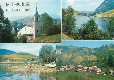 """/ CPSM FRANCE 73 """"La Thuile et son lac"""""""