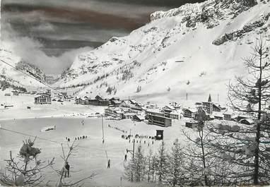 """/ CPSM FRANCE 73 """"Val d'Isère, la station vue du petit remonte pente"""""""