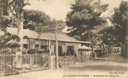 """CPA FRANCE 83  """"Hyères, boulevard du Ceinturon"""""""