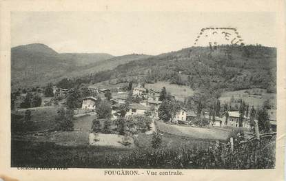 "/ CPA FRANCE 31 ""Fougaron, vue centrale"""
