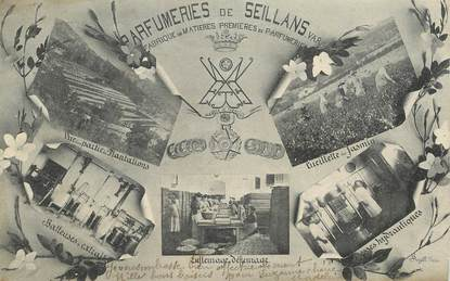 "CPA FRANCE  83 ""Parfumerie de Seillans"""