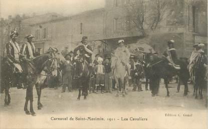 "CPA FRANCE  83 ""Carnaval de Saint Maximin"""