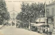"""83 Var   CPA FRANCE 83 """"Toulon, le Pont du Las, Place Martin Bidouré"""""""