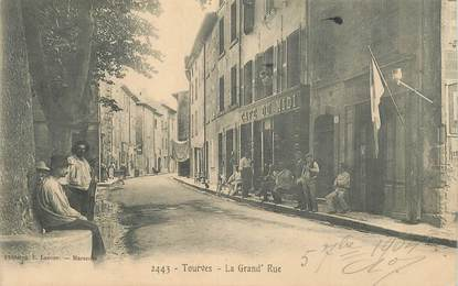 "CPA  FRANCE 83 ""Tourves, la grande rue"""