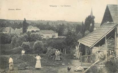 "CPA  FRANCE 89 ""Thury, la Chaume"""