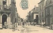 "89 Yonne   CPA  FRANCE 89 ""Sens, La Rue Victor Guichard"""