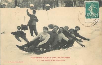 "/ CPA FRANCE 31 ""Une descente en bobsleigh"""