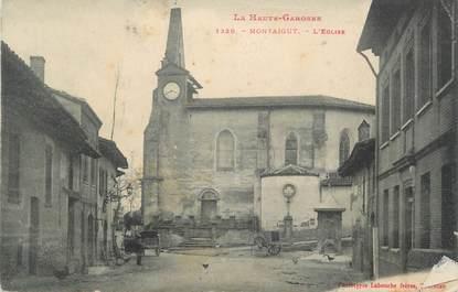 """/ CPA FRANCE 31 """"Montaigut, l'église"""""""