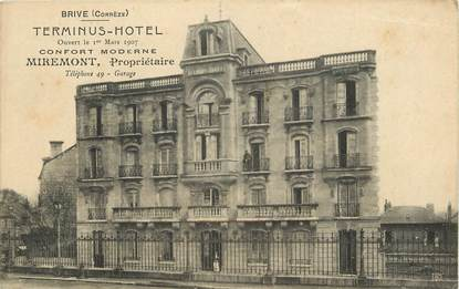 """CPA FRANCE 19 """"Brive, Terminus Hotel"""""""