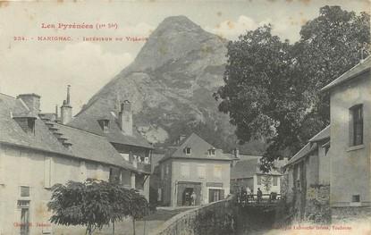 """/ CPA FRANCE 31 """"Marignac, intérieur du village"""""""