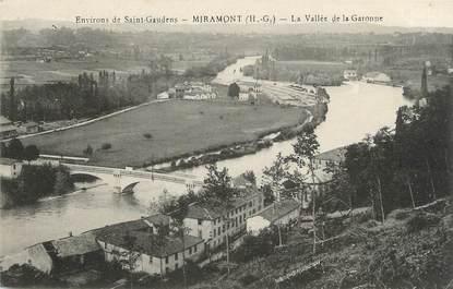 "/ CPA FRANCE 31 ""Miramont, la vallée de la Garonne"""