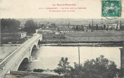 """/ CPA FRANCE 31 """"Miramont, le pont sur la Garonne"""""""