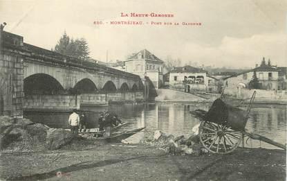 """/ CPA FRANCE 31 """"Montréjeau, pont sur la Garonne"""""""