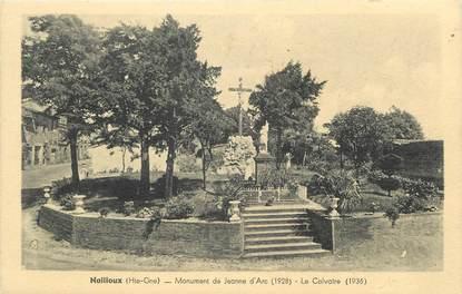 """/ CPA FRANCE 31 """"Nailloux, monument de Jeanne d'Arc, le calvaire"""""""