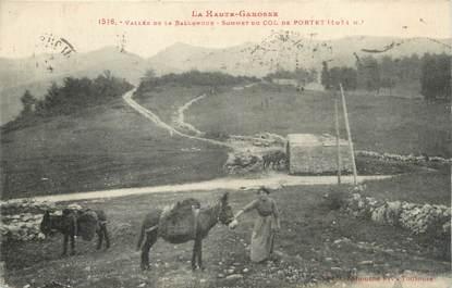 "/ CPA FRANCE 31 ""Sommet du col de Portet"""