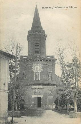 "/ CPA FRANCE 31 ""Seysses, l'église"""