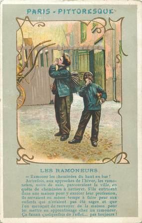 """CPA FRANCE 75 """"Paris, les Ramoneurs"""""""
