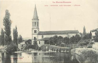 """/ CPA FRANCE 31 """"Soueich près Encausse, l'église"""""""