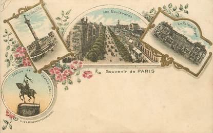 """CPA FRANCE 75 """"Paris, Souvenir de"""""""