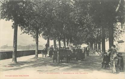 "/ CPA FRANCE 31 ""Saint Gaudens, promenade des tilleuls"""