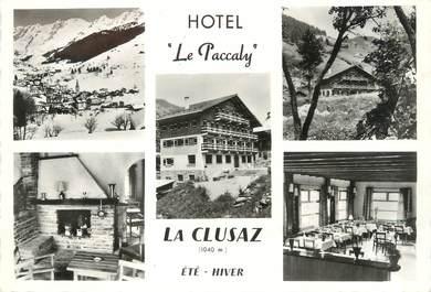 """/ CPSM FRANCE 74 """"La Cluzaz, hôtel restaurant le Paccaly"""""""