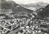 """74 Haute Savoie / CPSM FRANCE 74 """"Cluses, vue panoramique aérienne """""""