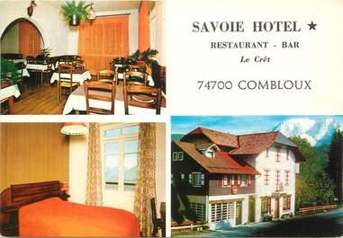 """/ CPSM FRANCE 74 """"Combloux, Savoie Hôtel """""""