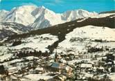 """74 Haute Savoie / CPSM FRANCE 74 """"Combloux, vue générale et massif du Mont Blanc"""""""