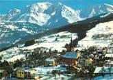 """74 Haute Savoie / CPSM FRANCE 74 """"Combloux et le massif du Mont Blanc """""""
