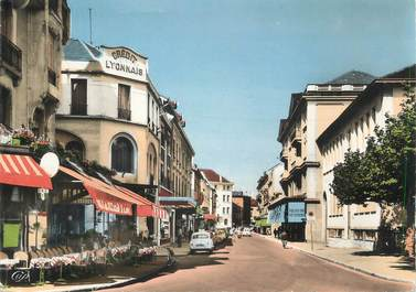 "/ CPSM FRANCE 74 ""Annemasse, rue de la gare """