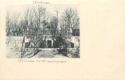 """/ CPA FRANCE 31 """"Toulouse, terrasse de Sainte Germaine"""""""
