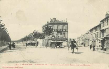 """/ CPA FRANCE 31 """"Toulouse, carrefour de la route de Launaguet"""""""
