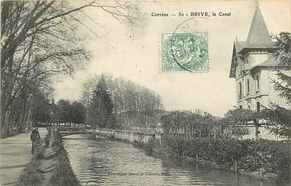 """CPA FRANCE 19 """"Brive, le Canal"""""""