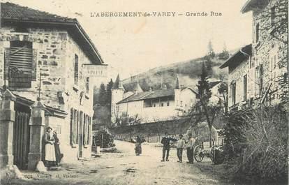 "/ CPA FRANCE 01 ""L'Abergement de Varey, grande rue"""