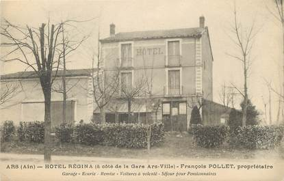 "/ CPA FRANCE 01 ""Ars, hôtel Régina"""