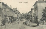 "01 Ain / CPA FRANCE 01 ""Belley, grande rue """