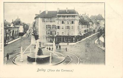 "/ CPA FRANCE 01 ""Belley, place des Terreaux """