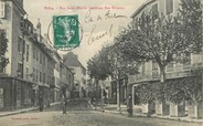 "01 Ain / CPA FRANCE 01 ""Belley, rue Saint Martin"""
