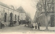 "01 Ain / CPA FRANCE 01 ""Belley, rue du Cordon"""