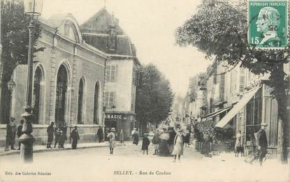 "/ CPA FRANCE 01 ""Belley, rue de Cordon"""