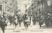 """01 Ain / CPA FRANCE 01 """"Bourg, retour du 23ème régiment d'Infanterie, le défilé avenue Alsace Lorraine"""""""